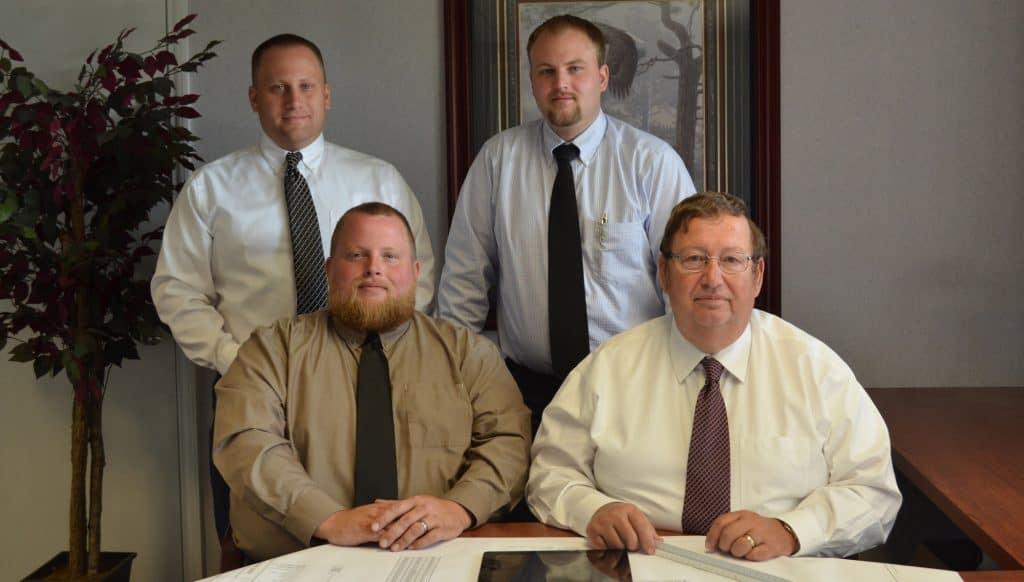 The Blatt Group—Jim, Josh, Tim and Larry (left to right).