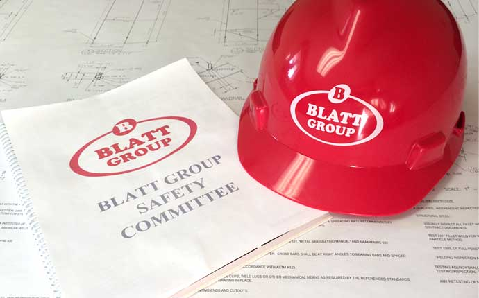 """Safety is """"Job No. 1"""" for all Blatt projects."""